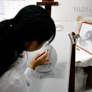 三次市/美術造形教室ー大人個別、幼小中高受験生、デッサン技法習得/中高校生・大人クラス