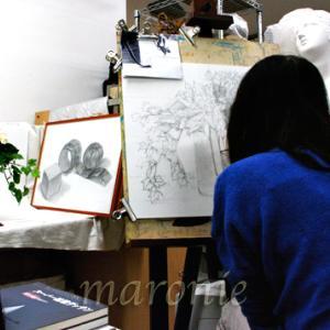 三次市/美術造形教室ー個別指導・幼小中高受験生大人クラス募集中! 基礎デッサン技法習得
