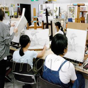 三次市/美術造形教室ー個別指導・幼小中高受験生大人クラス上期最終募集/裸婦・着衣人物デッサン