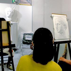 三次市/美術造形教室ー個別指導・幼小中高受験生大人クラス募集/月例人物デッサン会