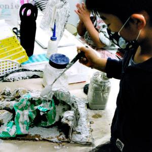 三次市/美術造形教室ー新学期情報【木曜・金曜・土曜】こどもクラス募集開始、GW無料アートキャンプ