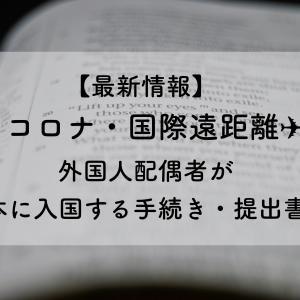 【朗報】8月に旦那が入国できる件【遠距離5年に終止符】