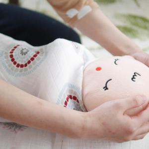 【募集】新生児育児を楽しめるおくるみタッチケア♡レッスンフォト付き2月おくるみタッチケア教室