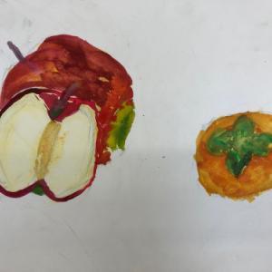 2019.10月子供アート教室〜果物を描こう〜