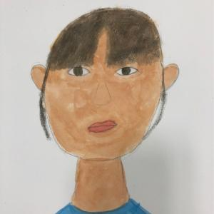 11月10日 子供アート教室 〜自画像、和菓子など〜