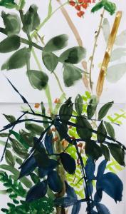 2021.10.24 コミュニティクラブたまがわ子供絵画〜自然の草木〜