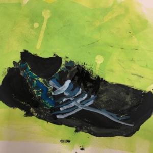 5/12 子供アート教室 〜靴を描こう〜