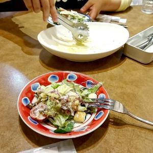 ジョリーパスタで遅めディナーでした(*'▽')