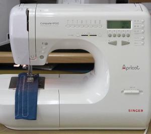 SINGER Computer Apricot 9700 シンガー アプリコット9700の上糸がつる