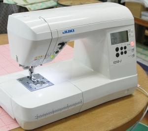 JUKI f250-J ジューキ家庭用コンピュータミシン f250-J のメンテナンス