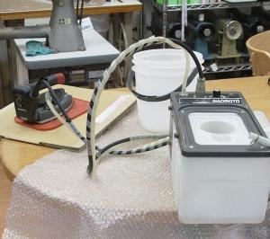 NAOMOTO Q-ing HYS-510 ナオモト キューイング FB-8S HYS-45OPアイロン修理…