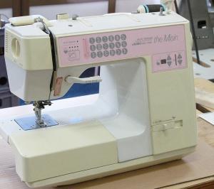 JUKI HZL-7500 The misin JUKI HZL-7500 ザ・ミシンのスピードスライドスイッチ交換