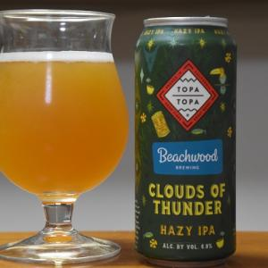 Topa Topa Clouds of Thunder Hazy IPA