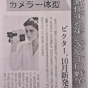 15万円を切るカメラ一体型 1986