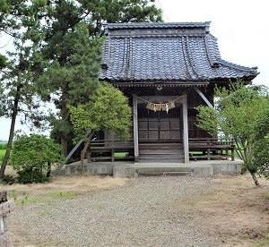 阿賀野市田山 十二神社