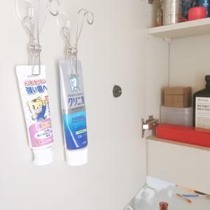 100均と無印で歯磨きチューブの収納!プチイライラも解消♪