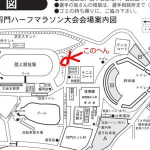 ムネコフ30k@駒沢のこととか、坂東ハーフの陣地(?)のこととか。