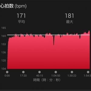 つくば翌週の30kmペース走