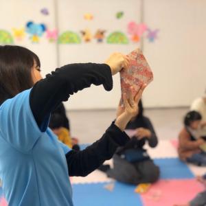【親子教室Smile】折り紙も一人で折れるようになったよ!