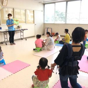 ソーシャルディスタンスを保ちながら元気にスタート!|親子教室Smile