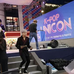 2019年明洞 K-POP UNIKON見て来ました。