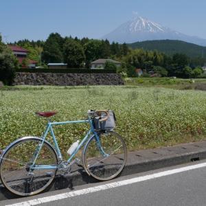 灼熱の富士山