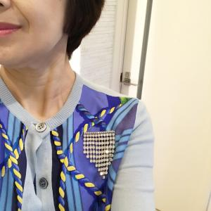 今日はランチシェア会〜私のファッションは♡