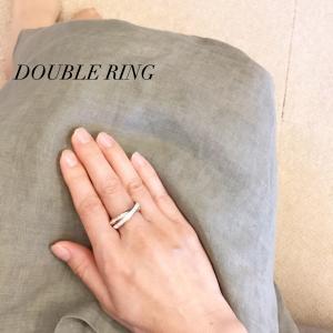 豪華で素敵なDOUBLE RING