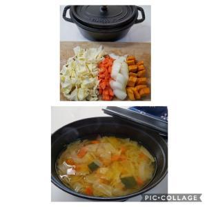 免疫力アップの野菜スープ♪