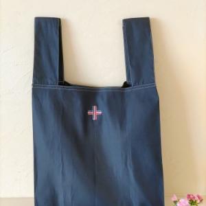 丈夫なエコバック/直線縫いだけ・縫い代は袋縫い/撥水加工生地で縫う