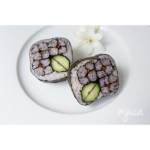 6月の飾り巻き寿司レッスンです