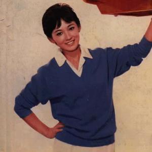 芦川いづみさん  画像の色調修正・加工