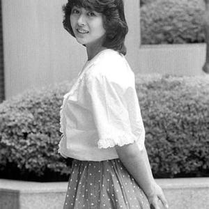 小泉今日子さん 昔の白黒写真 カラー化
