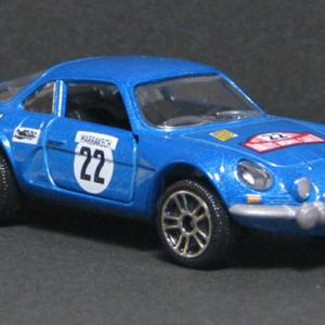 Alpine A110 Rally #22(Metallic Blue) MJORETTE