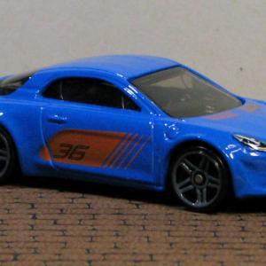 ALPINE A110 Rarry #36 (Blue) HotWheels