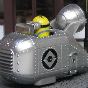 ミニオン/デイブ×グルーの車 (怪盗グルーの月泥棒より)