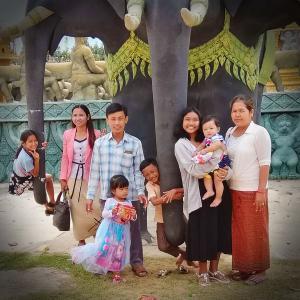 たくさんの友人たちに愛と感謝を捧げます@カンボジア
