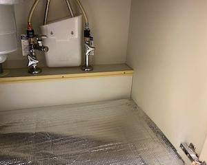 キッチン・シンク下と洗面台下収納