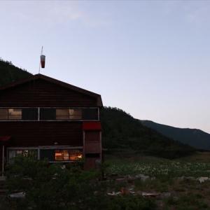 3日目黒部五郎小屋から雲の平へ