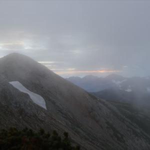 5日目最終日は薬師岳に登って折立に下山