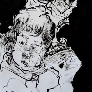 十一月スケッチ楽描き会-その2