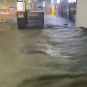 釜山の浸水被害が物凄いです。なう。