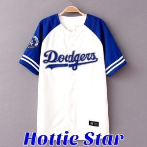 MLB♪LOS ANGELES DODGERSロサンゼルスドジャースベースボールシャツ詳細★