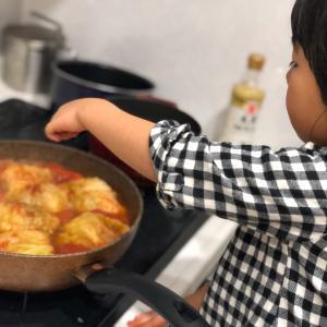 【2人目妊娠中】4歳児娘と一緒にお料理を作る楽しさ