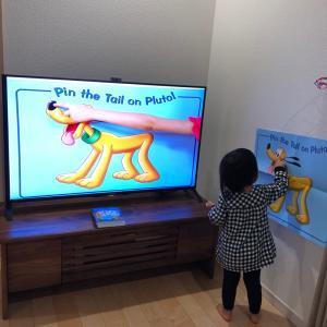 【3歳2ヶ月】体調不良の時にはディズニー英語システム 活用