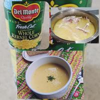 真冬の夜はコーン・スープでほっかほか。。。レシピをどうぞ♪