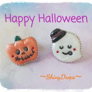 Halloweenのminiブローチ