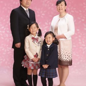 一年に一度の家族写真