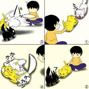 猫VS人形