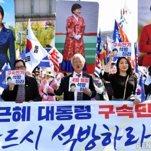 朴槿恵前大統領、釈放か!?韓国世論調査「釈放された場合、来年4月の総選挙に影響を及ぼす」